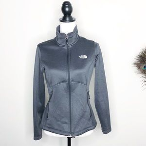 The North Face Women's Grey Zip Up Jacket